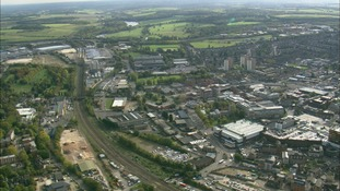 Luton from the air
