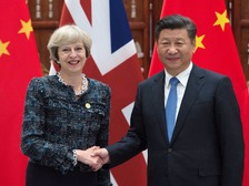 The issue of Hinkley Point was not explicitly mentioned in talks between Theresa May and Xi Jinping.