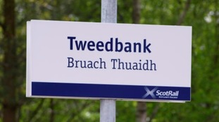 Tweedbank railway station