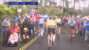 Riders on The Struggle at Ambleside