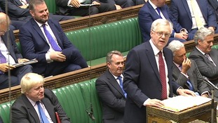 David Davis confirmed there would be no attempt to delay the terms of withdrawal.