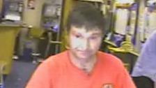 John William Mason on CCTV