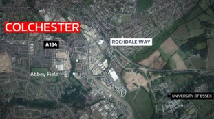 The incident happened in Colchester