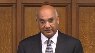 Keith Vaz did not mention the newspaper reports about him.