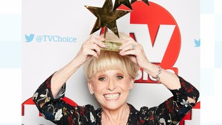 Emmerdale wins best soap and Dame Barbara Windsor is honoured at TV Choice Awards
