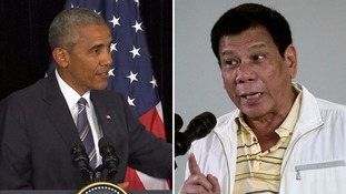 Obama cancels meeting with Philippine leader after 'whore' jibe