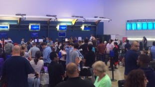Passenger chaos as British Airways suffers 'global' system check-in failure