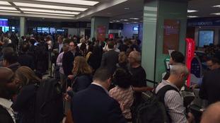 Chaos at City Airport.