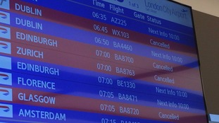 Cancellations at City Airport.