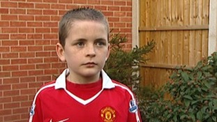 Jamie Thomas broke his wrist at his first Manchester United game