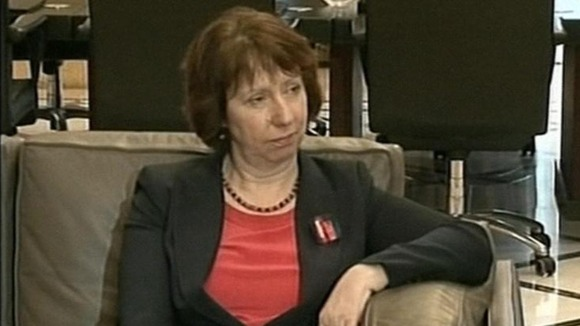 European Union foreign policy chief Baroness Ashton