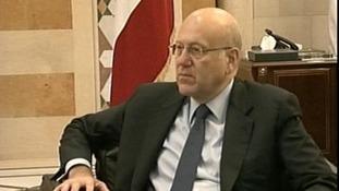 Lebanese Prime Minister Najib Makati