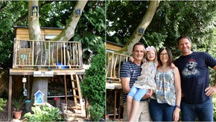 Ruby's treehouse was crowned the best in the UK