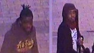 CCTV video released over stabbing in east London.