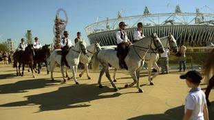 Olympic Park handover marked