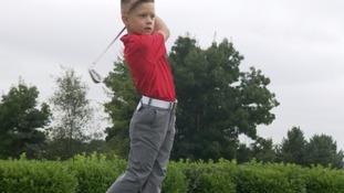 Meet the next Tiger Woods: the 6 year old who's already World Champion