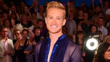 Greg Rutherford dons the sequins for Strictly.