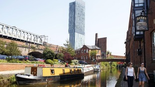 Manchester's Beetham Tower