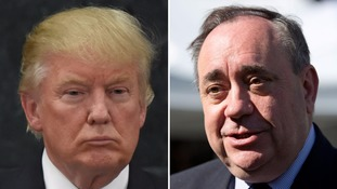 Donald Trump a 'dangerous manchild' says Alex Salmond