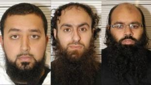 Irfan Naseer, Irfan Khalid and Ashik Ali were arrested in Birmingham last year