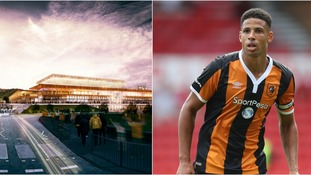 Premier League footballer Davies gives his backing to Luton Town's proposed new stadium