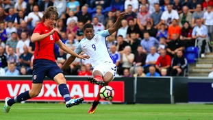 Rashford was on top form in Colchester.