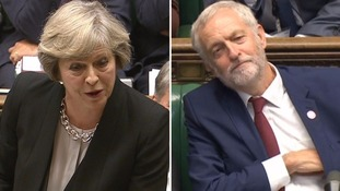 May attacks 'laughing stock' Corbyn at PMQs