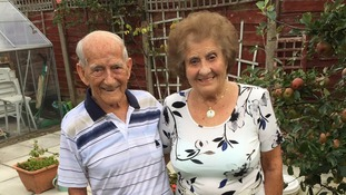 Couple from Lymm celebrate 70th wedding anniversary