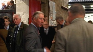 Prince Charles at Auction Mart