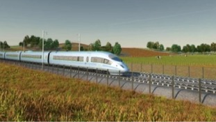 HS2 would see ultra-fast trains running from London to Birmingham on a new line which could be completed by 2026