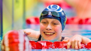 Ellie Robinson set a new British record at the Para-trials