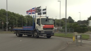 Protesters form convoy to oppose Bodmin roadworks