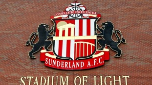Sunderland A.F.C signage at the Stadium of Light