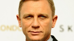 Daniel Craig at a photocall for new James Bond film Skyfall at the Dorchester hotel in London.