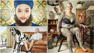 Bearded woman, tallest dog and most tattooed pensioner set new Guinness World Records