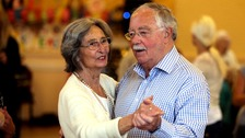 Malcolm Joyce with his wife Jean, who passed away from Alzheimers