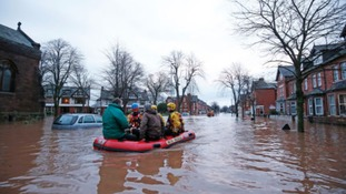 Enivornment Secretary Andrea Leadsom outlines flood prevention strategy