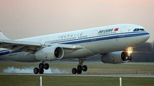 Air China said the language used was 'inappropriate'.