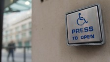 Disabled people often have difficulty attending sports events.