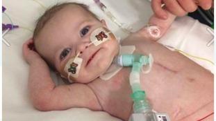 15-month old Gabriella Lewis