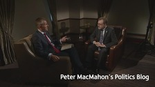Peter MacMahon with David Mundell