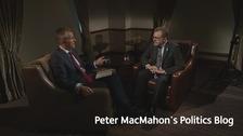 Peter MacMahon with David Mundell