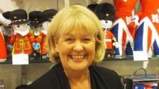 Cheryl Gillan with London Olympics mascots