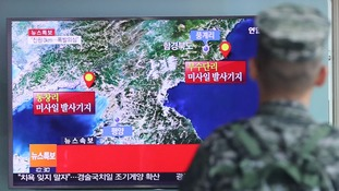 North Korea tests nuclear missile causing earthquake
