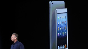 Phil Schiller introduces the new iPad mini