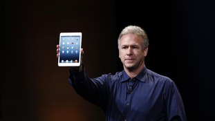 Apple's Phil Schiller shows off the new iPad