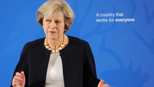 The prime minister has outlined her 'ambitious' education reforms.