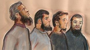 Four in court accused of preparing terrorist attack