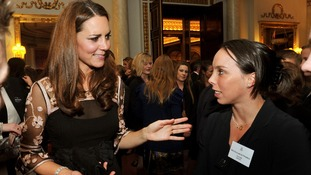 London 2012 heroes honoured at Palace