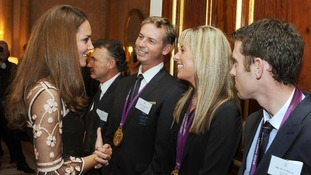 Royal recognition for our Olympians